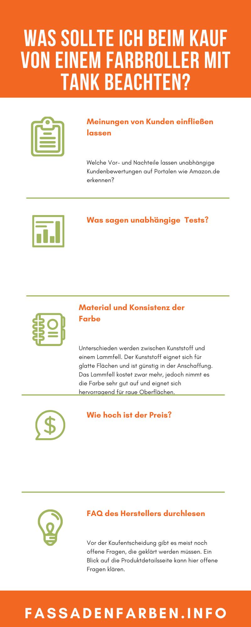farbroller mit tank kaufberatung infografik