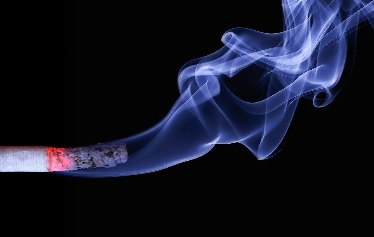 Nikotinfarbe Test