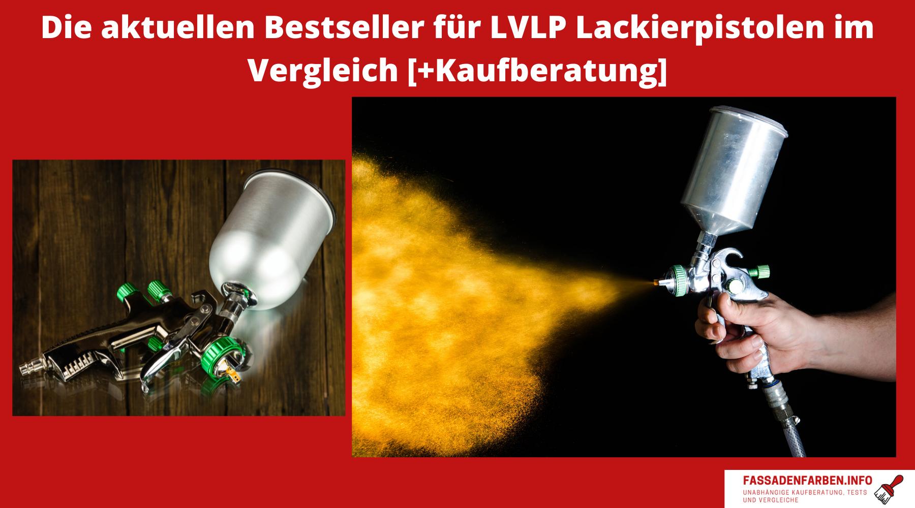 LVLP Lackierpistole Test